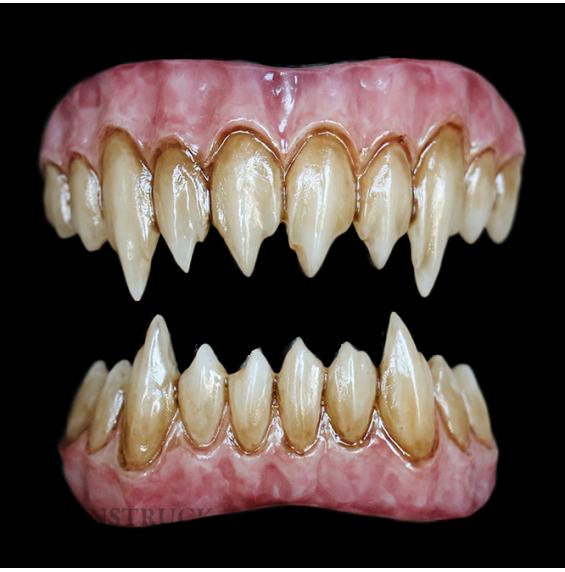 Zombie Purple Saphira Teeth