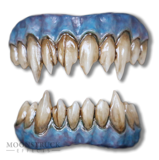 Reptile Green Saphira Teeth