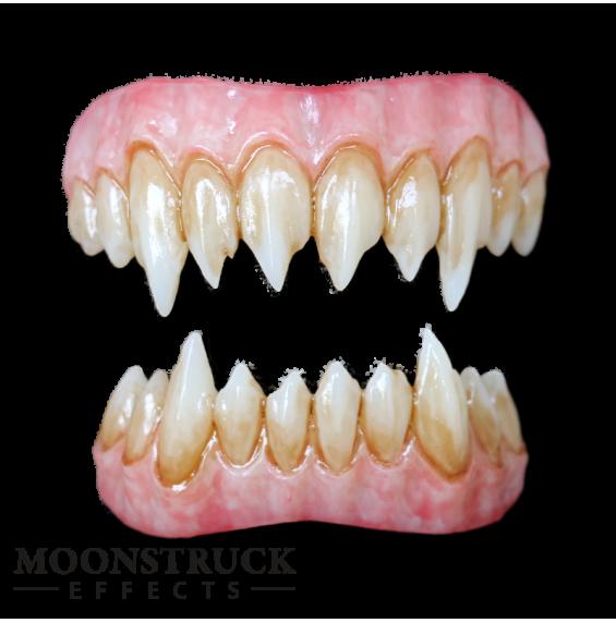Zombie Green Saphira Teeth