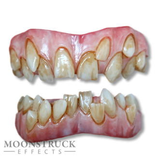 Mormo Teeth - Regular Pink Gums - Stained Finish