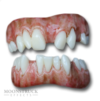 Lazarus Teeth - Dead Brown Gums - Random Missing Teeth Alteration