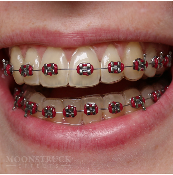 Zombie Purple Chimaira Teeth