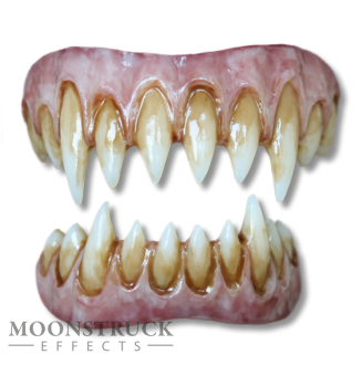 Saphira Teeth - Wolf Purple Gums - Stained Finish