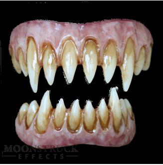 Saphira Teeth - Wolf Purple Gums - Stained Finish