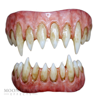 Saphira Teeth - Custom Gums - Stained Finish