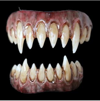 Saphira Teeth - Dorian Grey Gums - Stained Finish
