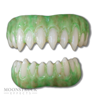 Saphira Teeth - Reptile Green Gums - Shortened Teeth Alteration