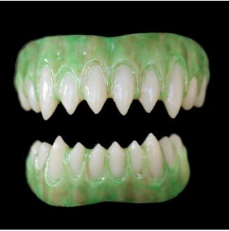 Saphira Teeth - Reptile Green Gums - Shortened Teeth Alteration