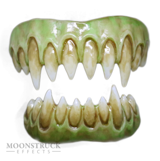 Saphira Teeth - Reptile Green Gums - Stained Finish