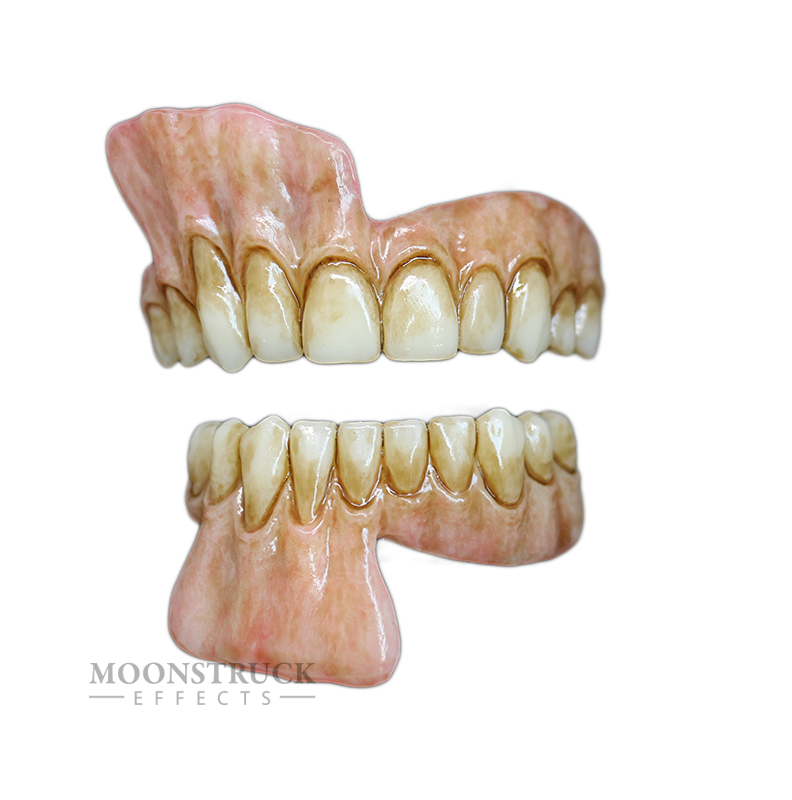 Lareth Teeth - Dead Brown Gums - Stained Finish