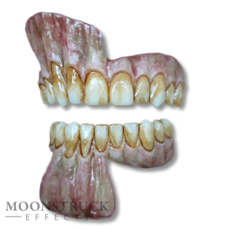 Lareth Teeth - Zombie Purple Gums - Stained Finish
