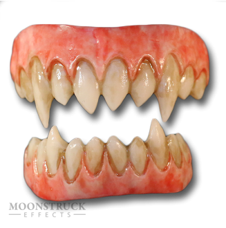 Korrigan Teeth - Inflamed Gums - Stained Finish