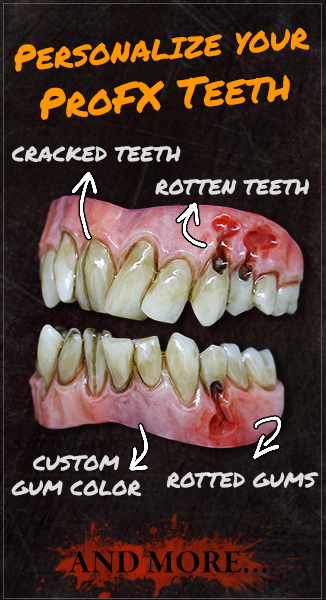 Personalize your FX Teeth